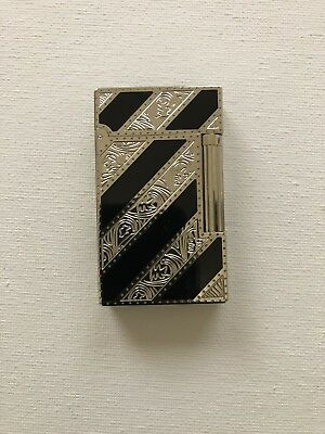 Vintage S.T. Dupont Silver Lighter As Found