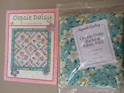 Patchwork quilt kit wall hanging - Oopsie Daisy