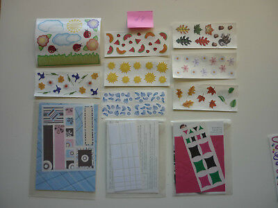 Assorted Creative Memories Stickers, Kits, etc Lot # 8  ** FREE POST**