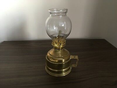 Vintage French Pigeon Oil lamp