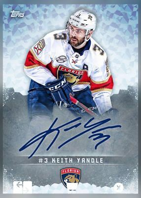 18-19 SIGNATURE SERIES (TOPPS SIGNATURE) KEITH YANDLE NHL Skate Digital