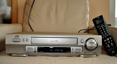 JVC HR S 6600 EU S-VHS Video Player VHS Player Videorecorder Super VHS 6 Kopf