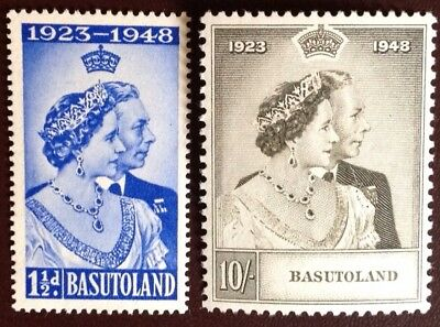 Basutoland 1948 Silver Wedding MVLH