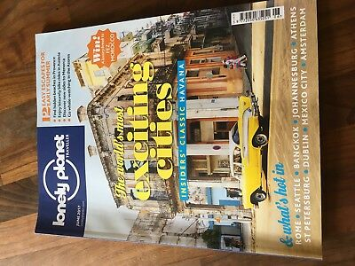 Lonely Planet Traveller magazine June 2017: World's Most Exciting Cities etc