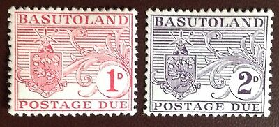 Basutoland 1956 Postage Due Set MH