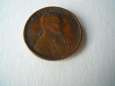1911s American 1 Cent Coin
