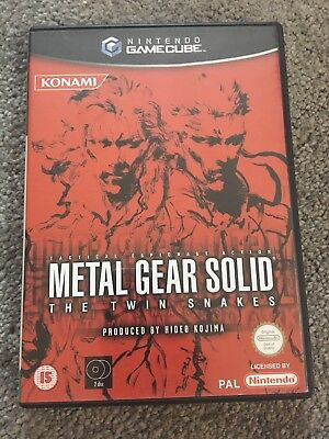 Metal Gear Solid: The Twin Snakes (Nintendo GameCube) Excellent Condition