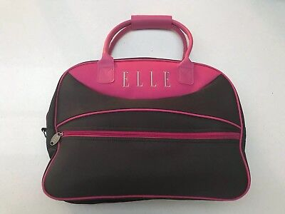 Elle Sports Bag Pink And Grey