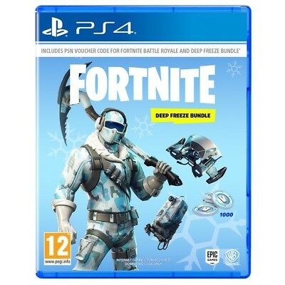Fortnite Deep Freeze Bundle Download Code Only Ps4 | European Only