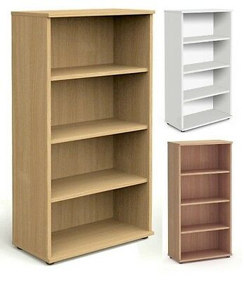 1600h High Office Bookcase with Adjustable Shelves