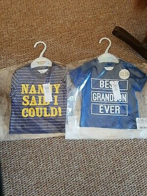 M & Co Baby Boys T-shirt 3-6 Months