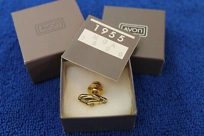 1955 MG MGA 1600 Hat Lapel Pin Accessory NOS in Box Papers Vintage Avon Morris