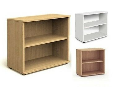 800h High Office Bookcase with Adjustable Shelves