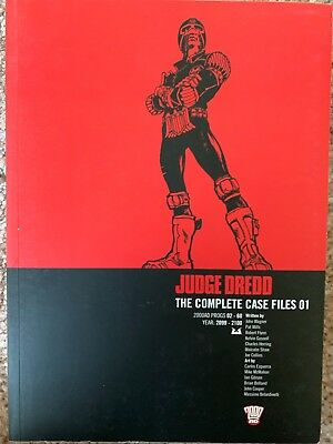 2000AD: Judge Dredd The Complete Case Files No.1, Progs 02-60, Year 2099-2100