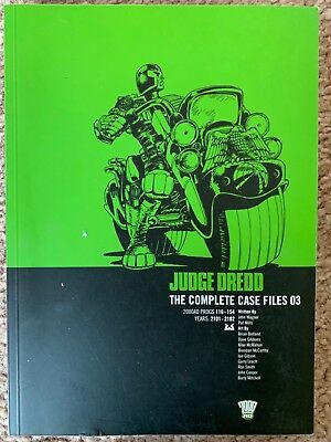 2000AD: Judge Dredd The Complete Case Files No.3, Progs 116-154, Year 2101-2102