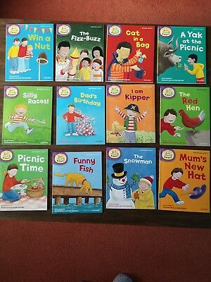 OXFORD READING TREE BOOKS, READ WITH BIFF, CHIP & KIPPER - Level 2 - Set of 12