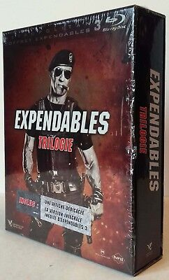 Coffret Trilogie Expendables (Sylvester Stallone) 3Blu-rays