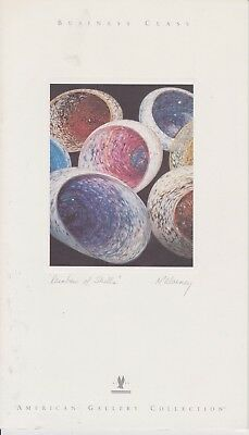 American Airlines (Usa) - Menu Business Class - 12/2000 - Rainbow Of Shells