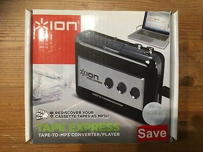 ION Audio Tape Express - Portable Analogue to Digital MP3 Cassette converter