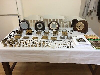 Smiths Vintage Clocks And Parts For Spares And Repairs