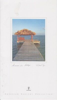 American Airlines (Usa) - Menu Business Class - 08/2003 - Summer In Belize
