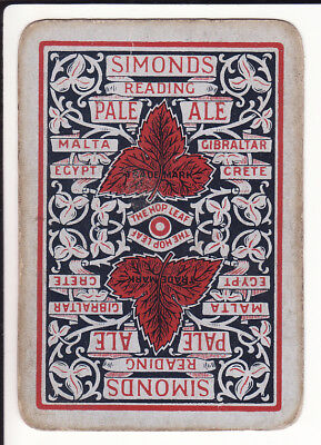 Simonds brewery playing cards - part pack for swaps or resale as singles 48/52