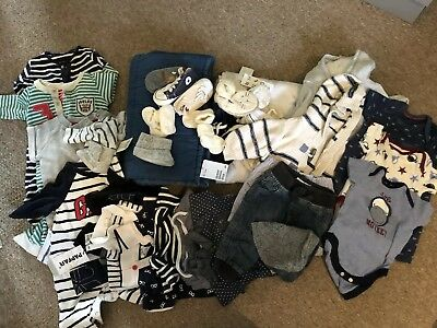 Baby Boy Bundle 0-6 Months Next Gap Converse Ralph Lauren Joules H&M A Lot More