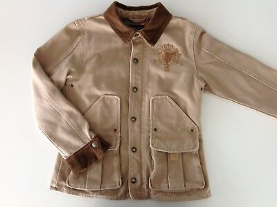 c1853714365ef1 POLO RALPH LAUREN VESTE CAVALIERE FILLE - XL (16) - Flag, Bear,