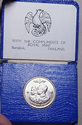 1961 Thailand Baht Commemorative Coin.  Royal Mint.  Bangkok,Thailand