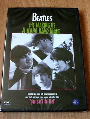 The Beatles - Making of A Hard Day's Night NEW DVD Paul McCartney