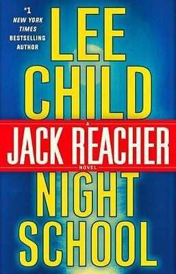 Night School, NEW, FREE SHIP,  by Lee Child (2016, Hardcover)