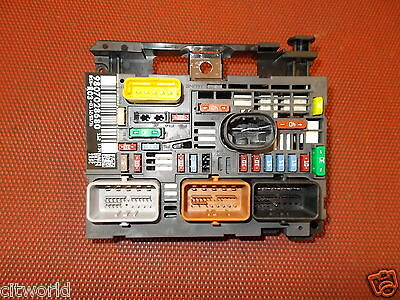 genuine peugeot expert mk3 under bonnet fuse box 9807028780