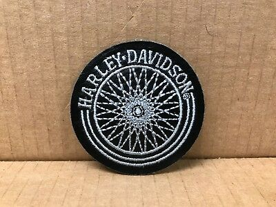 "Embroidered Harley-Davidson Jacket Patch 3"" X 3"""
