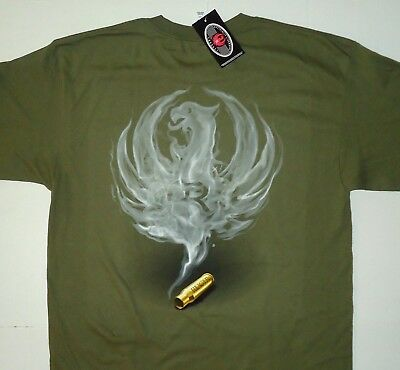 29592438e RUGER Firearms Smoked Men's T Shirt Lg - 3XL
