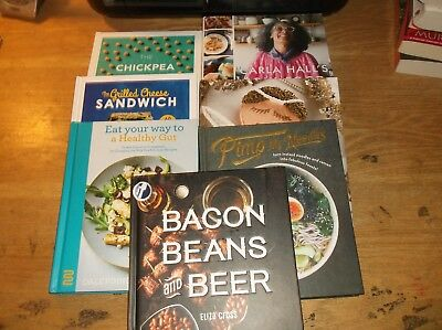 Lot of 7 Brand new Cookbooks ~ aLL HARD COVER