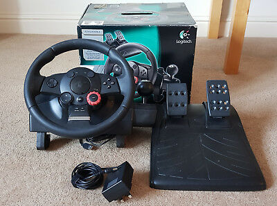 Logitech Driving Force GT Racing Steering Wheel & Pedals PC & PS3