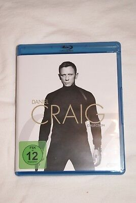 Blu-Ray Daniel Craig Collection Casino Royal, Quantum Trost, Skyfall, Spectre