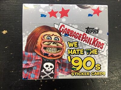 2019 Topps Garbage Pail Kids We Hate The 90's Retail Box