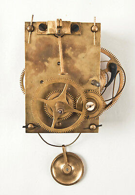 Howard No. 70 weight driven wall clock movement only @ older reproduction