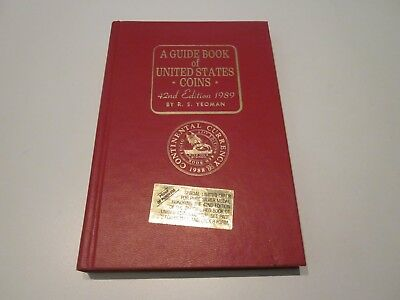 1989 US Coins Red Book Guide  - 42nd EDITION by R S Yeoman