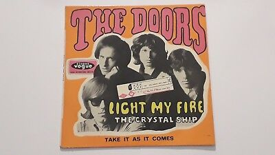 Rare French Ep/the Doors/vogue Int 18145/light My Fire