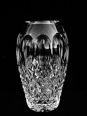 """Brilliant Waterford Crystal """"colleen"""" 5"""" Flower Vase ~ Made In Ireland"""