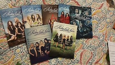 Pretty Little Liars complete box set seasons 1-7 good used condition pll