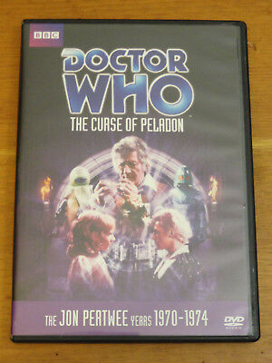 Doctor Who THE CURSE OF PELADON Story No. 61 DVD 2010 Jon Pertwee R1