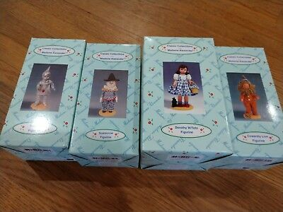 Classic Collectibles Wizard of Oz Madame Alexander figurines Set of four 1999