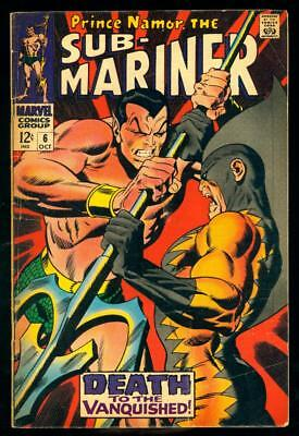 Sub-Mariner #6  Gd/vg  (Top Staple Detached, Browning)