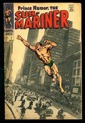 Sub-Mariner #7  Gd  (Water Spots, Tanning, Extra Staple)