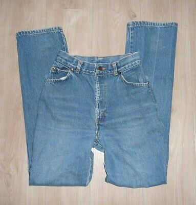Vintage Women's H.I.S Chic High Waisted Blue Jeans Size 8/9