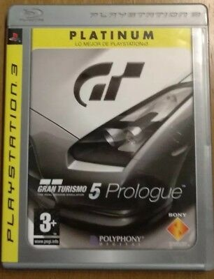 Gran Turismo 5 Prologue Platinum PS3. Juego físico original