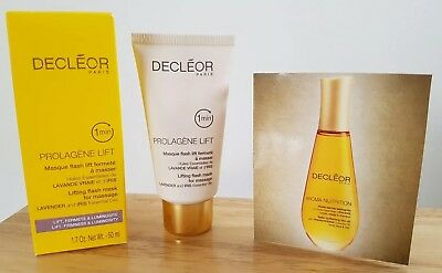 DECLEOR PROLAGENE LIFT LIFTING FLASH MASK FOR MASSAGE  50ml-new,boxed